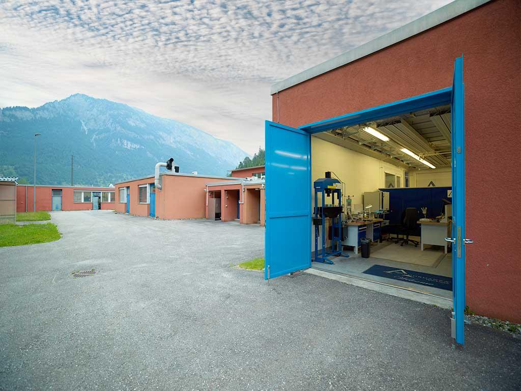 Algordanza Switzerland Production Facilities