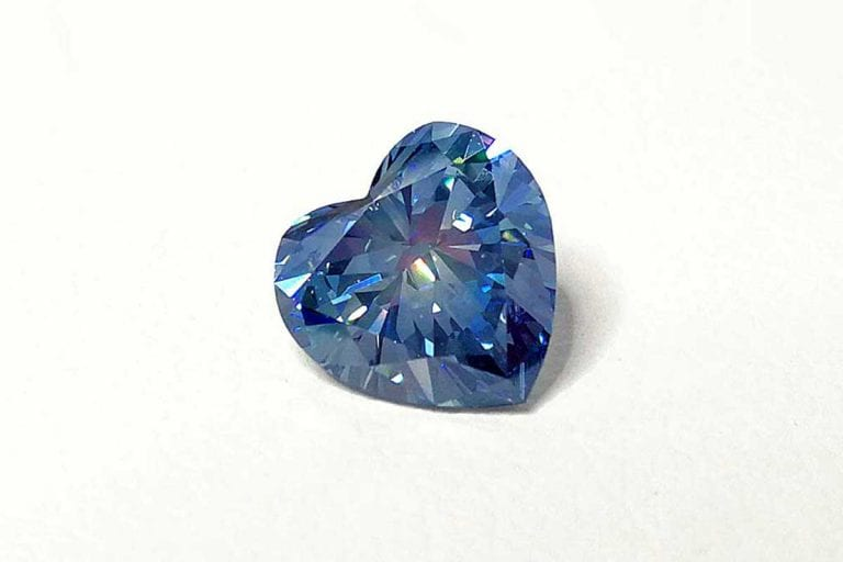 Cost and Selection Image of Heart Cut Cremation Diamond From Ashes