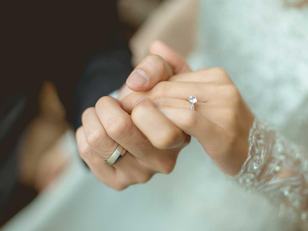 Celebration or Promise Diamonds Celebrating Wedding