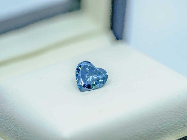 Beautiful Heart Cut Memorial Diamond